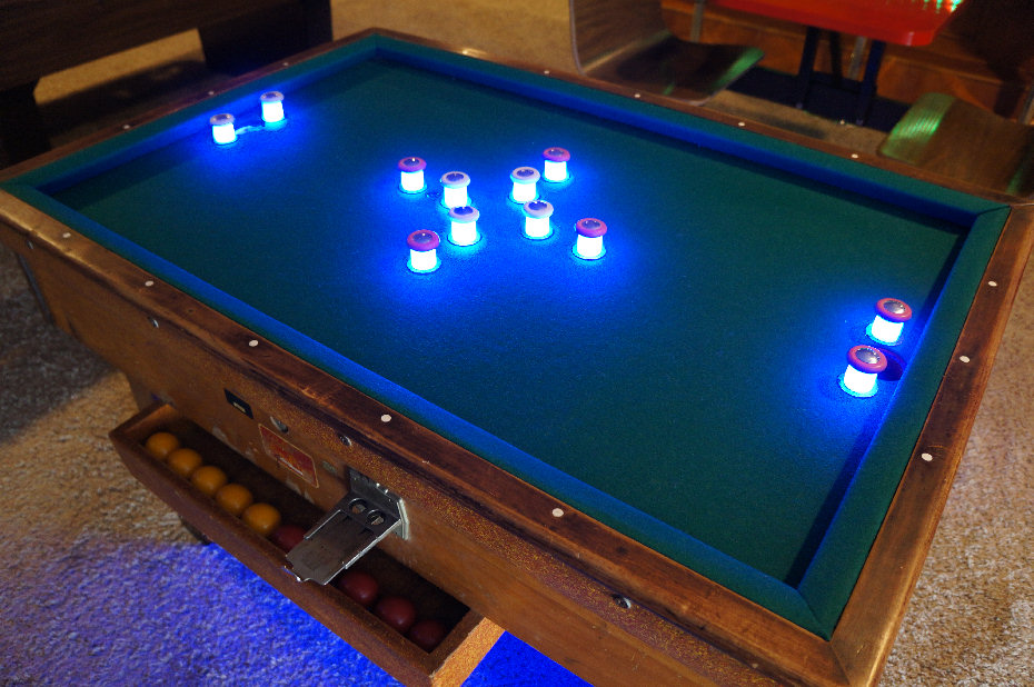 After All Is Said And Done These Blue Led S Glow Nicely Much Brighter On The Playfield Light Posts Never Get Warm Time To Shoot Some Pool