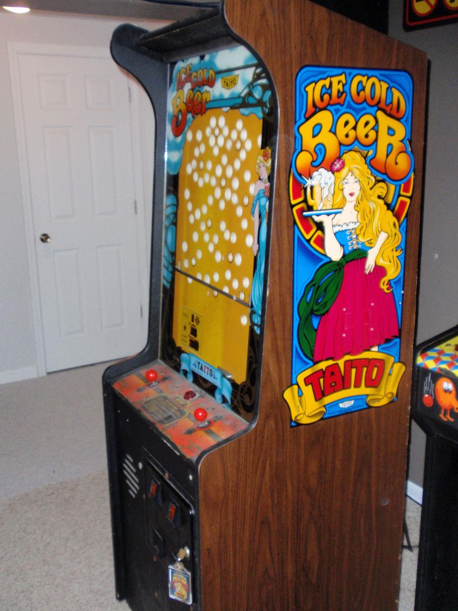 cold arcade machine