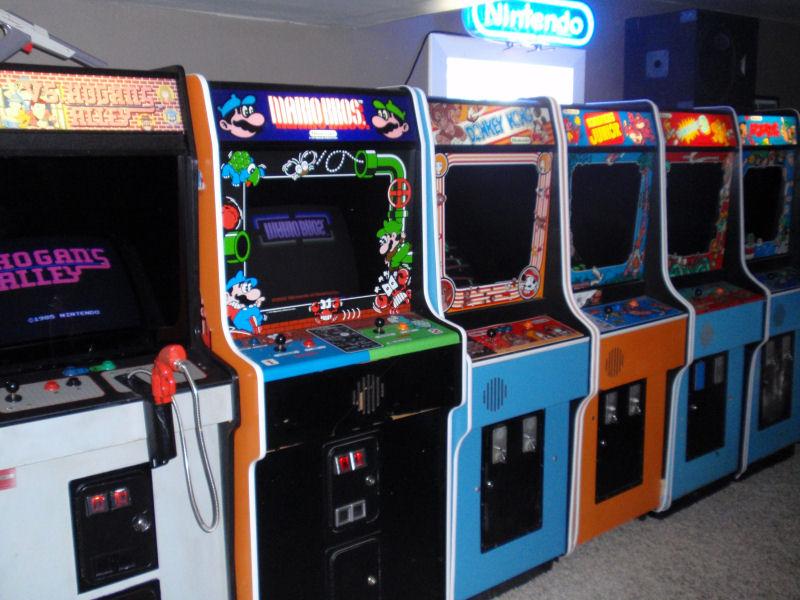 Nintendo Arcade Cabinet Dimensions Cabinets Matttroy
